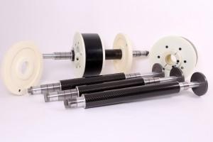 Carbon Fibre Reelshaft-Group