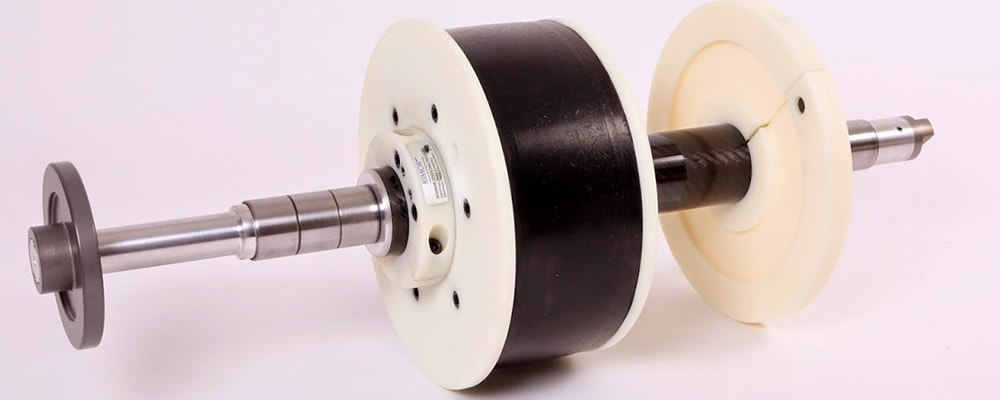 Carbon Fibre Shaft & Tyre Chuck